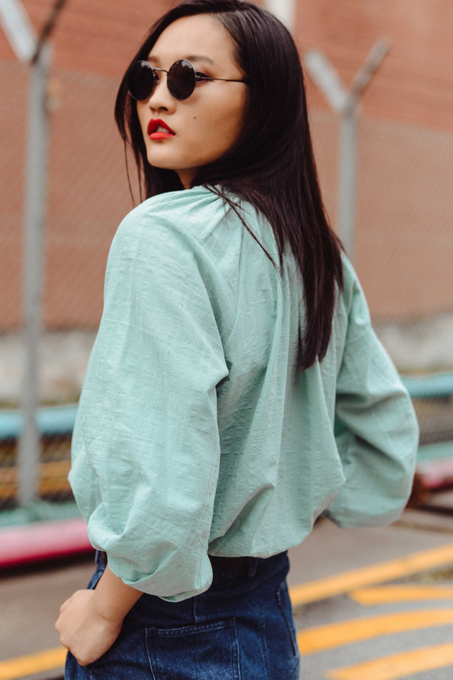 OPHELIA TOP IN MINT