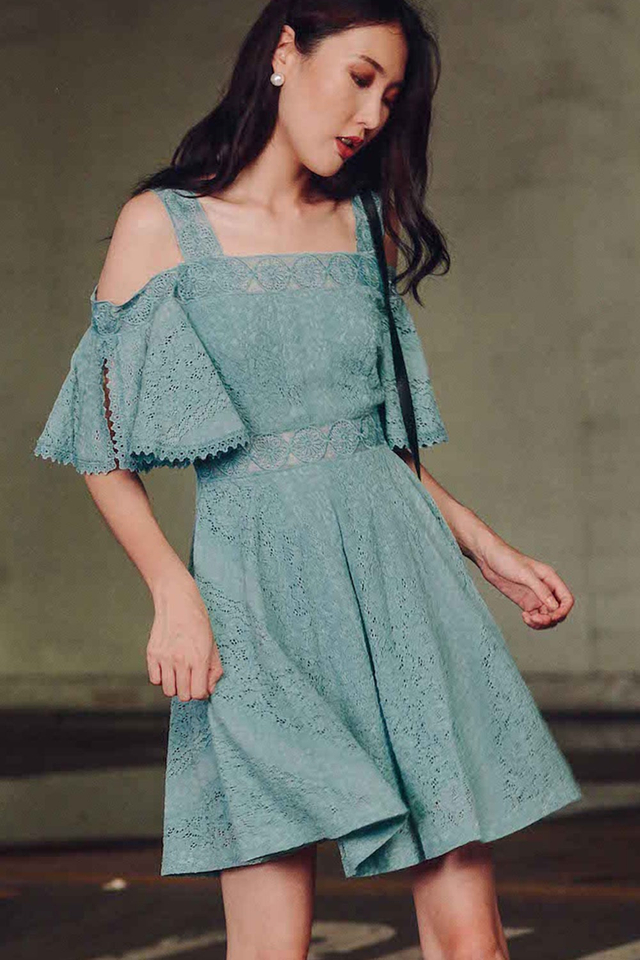 HAMPSHIRE DRESS IN SEAFOAM