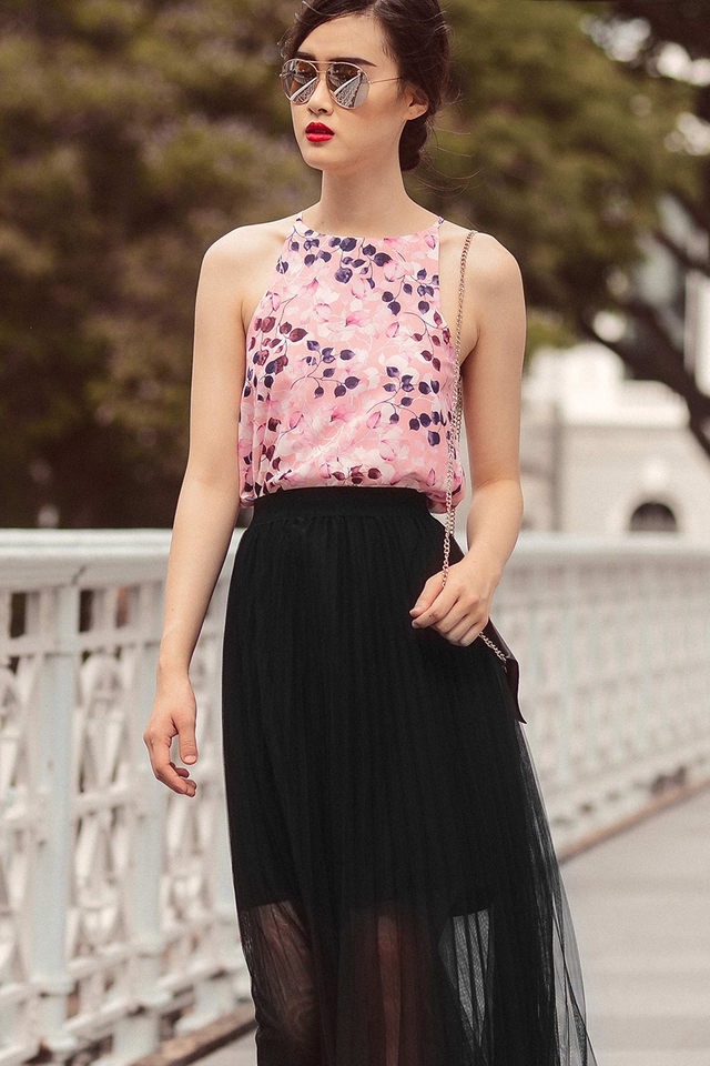 CHATELLIER TOP IN PINK