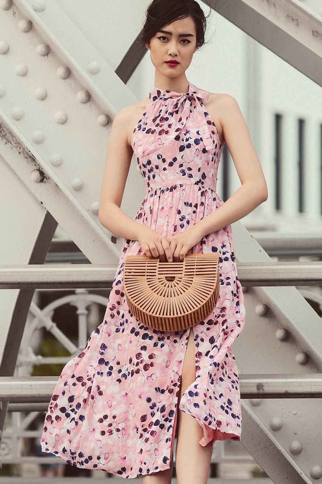 CHATELLIER MAXI IN PINK