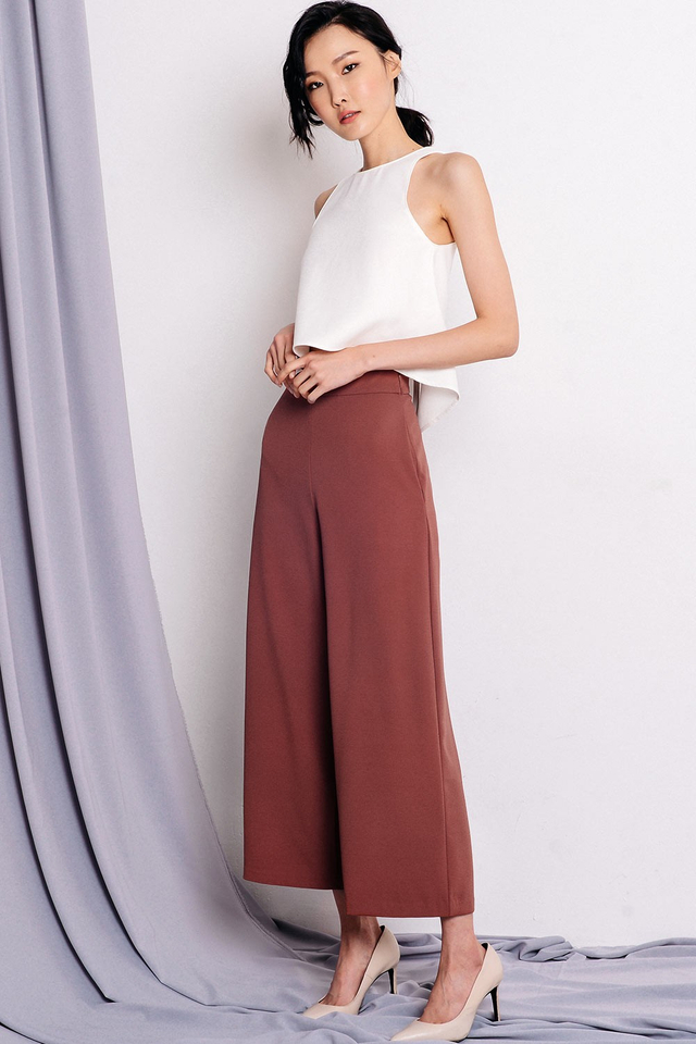 *BACKORDER* LANGDON PANTS IN ROSEWOOD