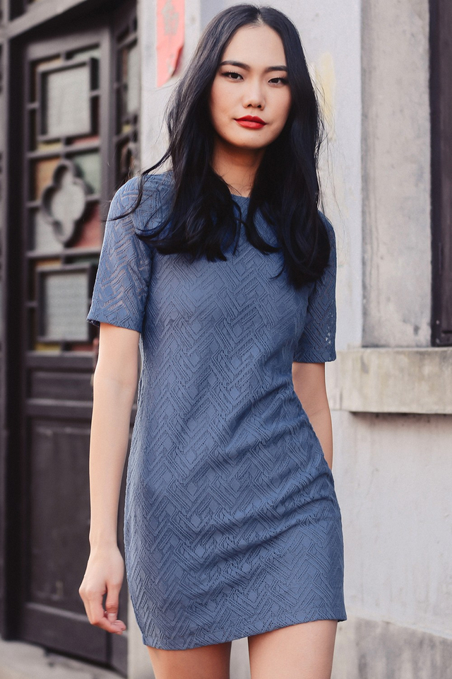 *BRIDGE* KEANU DRESS IN DUSK PERIWINKLE