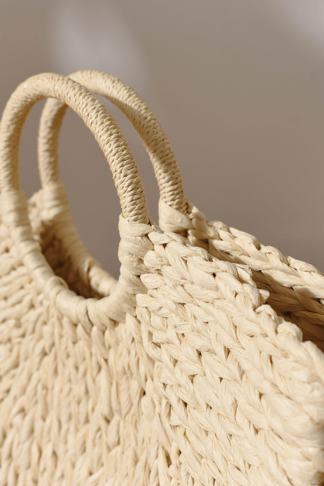 BENITA WEAVED BAG