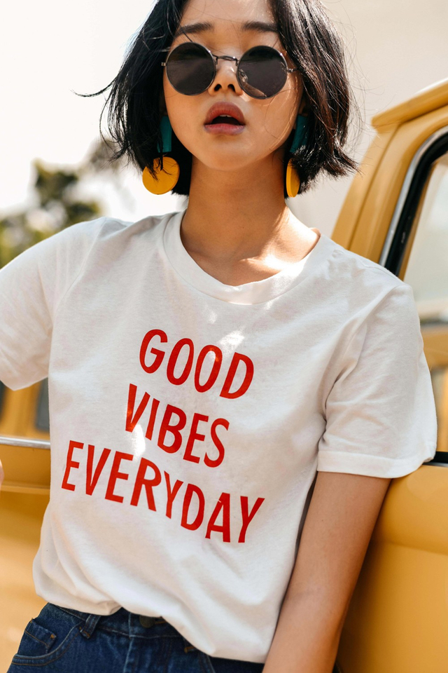 *RESTOCKED* GOOD VIBES EVERYDAY TEE