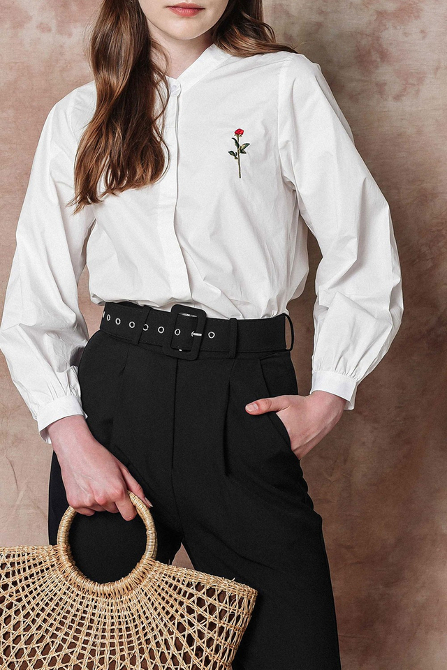 ROSA EMBROIDERY SHIRT