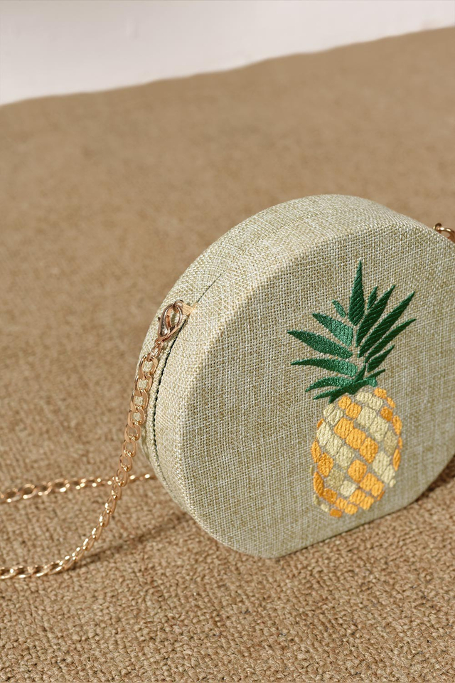 PINEAPPLE CROSSBODY BOX SLING