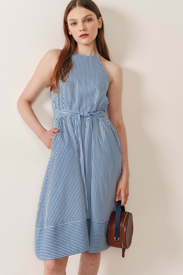 ALBANY STRIPED MIDI