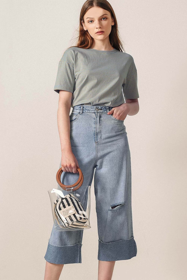 *BACKORDER* BARRY DENIM CULOTTES