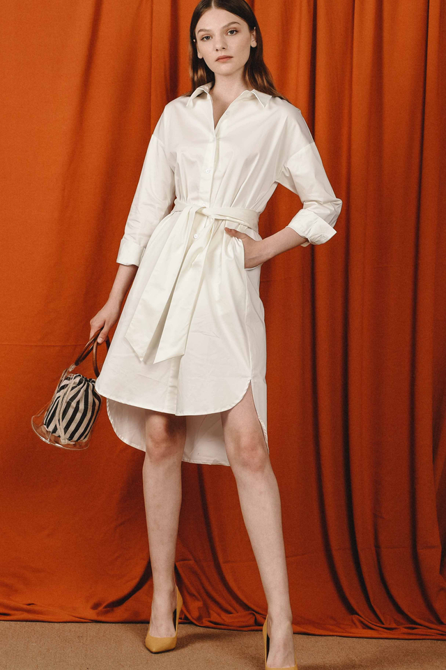 HATHAWAY SHIRT DRESS