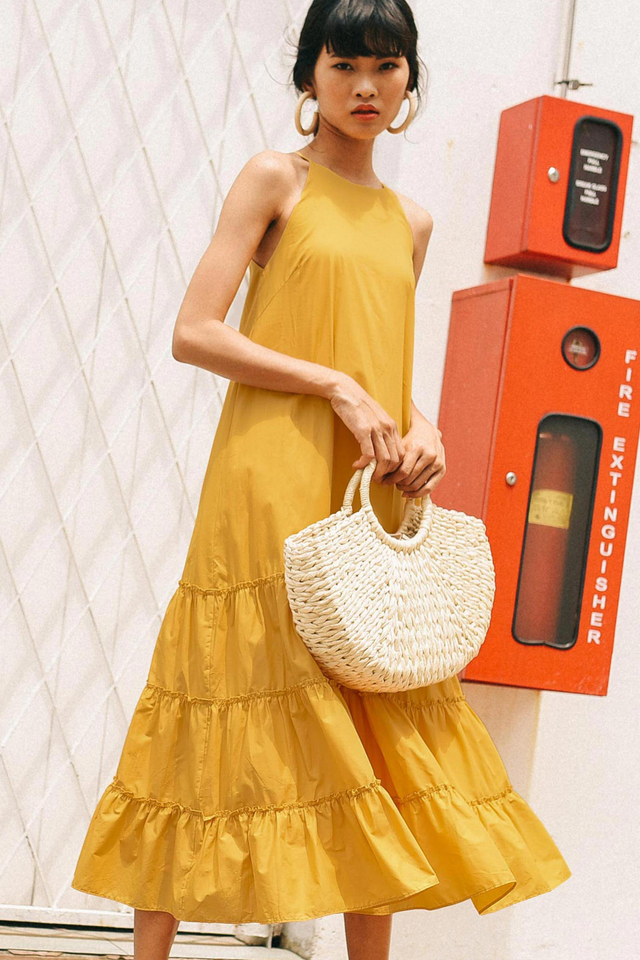 CARRINGTON MAXI IN YELLOW