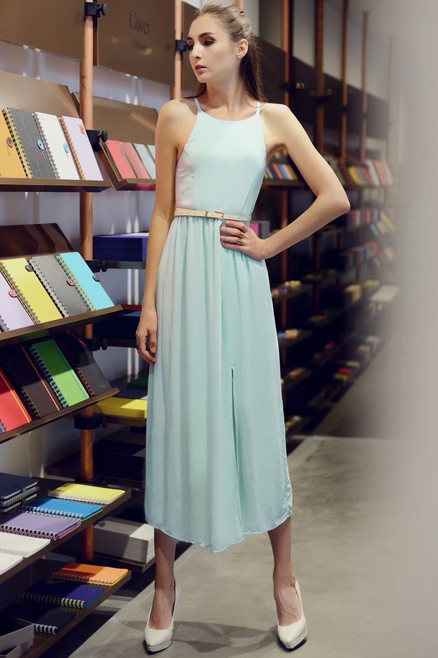 *BRIDGE* Everyday Maxi in Powder Blue