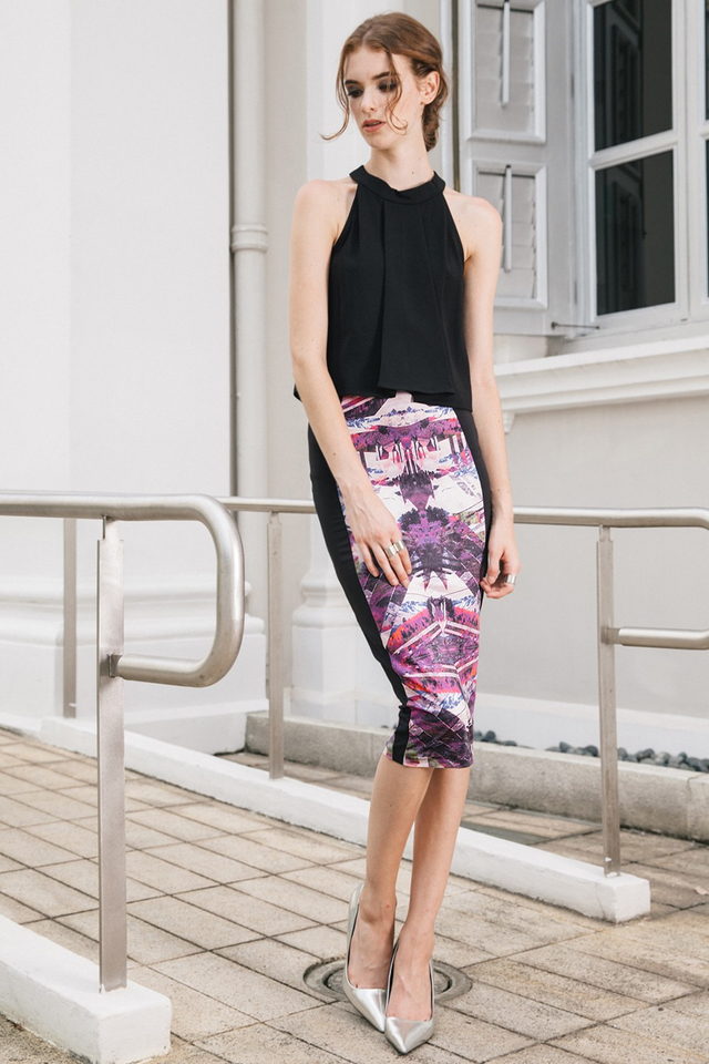 *BRIDGE* Portland Midi Skirt