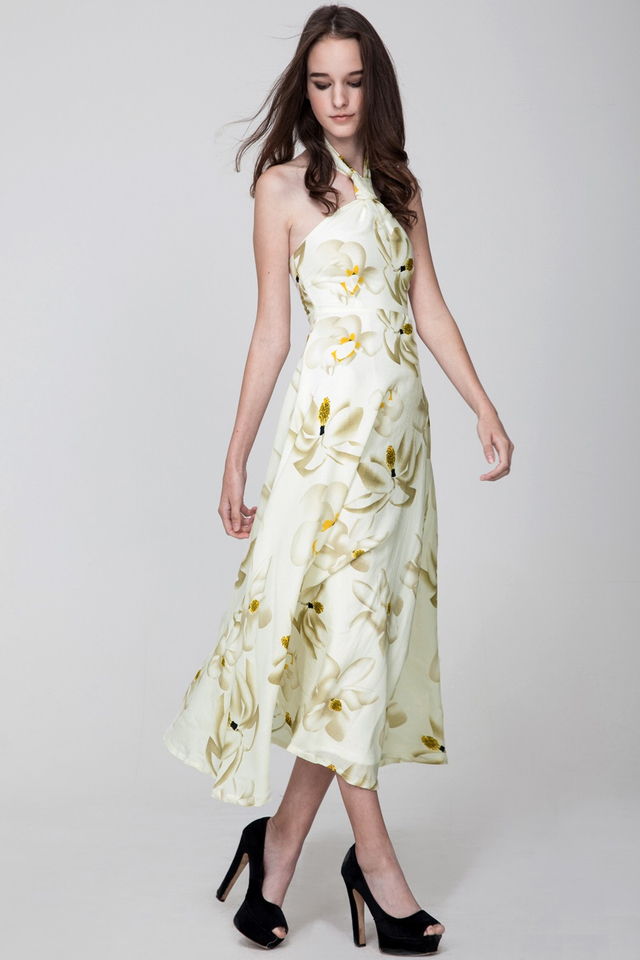*BRIDGE* Jardin Maxi in Cream