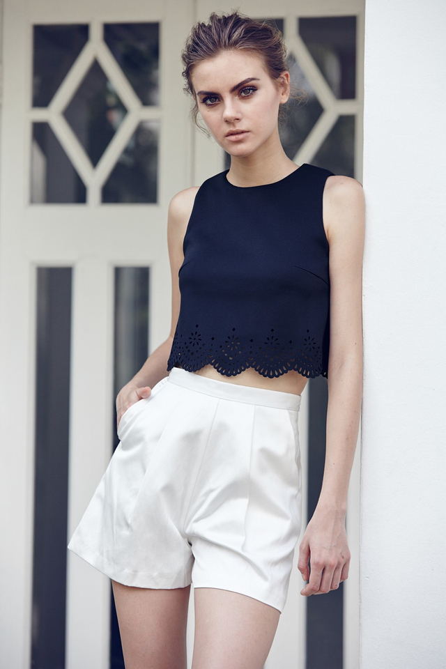 *BRIDGE* Pablo Top in Navy