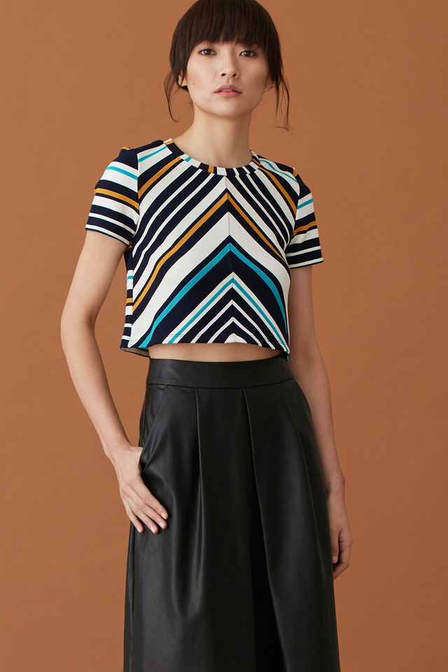 *BRIDGE* Yves Striped Top