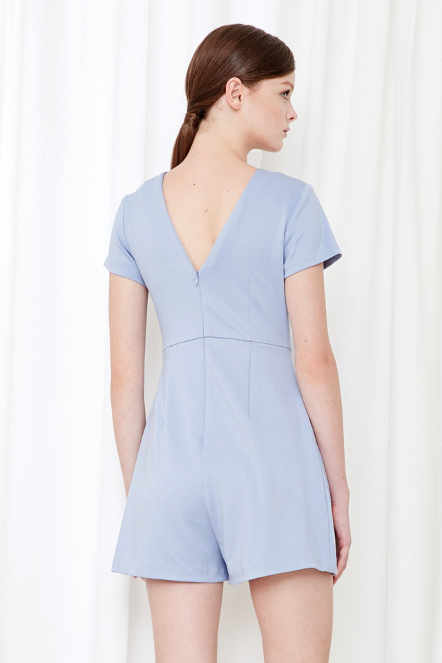 *BRIDGE* Thea Playsuit in Periwinkle Blue