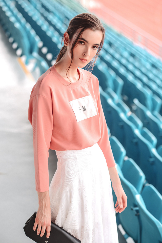 *BRIDGE* FM Sweater in Pink