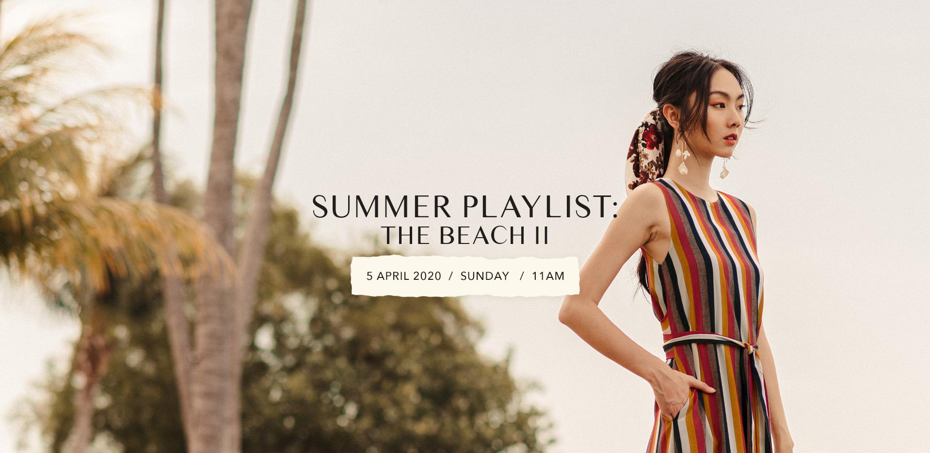 SUMMER PLAYLIST: THE BEACH II